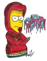 GaNgStAa Bart SiMpSoN by Wilbur-distiny