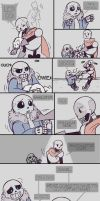 .Undertale Fancomic: Annoying Dog - Page 5.+ by Kintanga