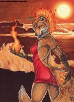 Mistress of Flame by Art-of-Sekhmet