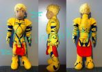 Gilgamesh/Archer Plush by VampireSin