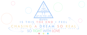 30 Seconds to Mars: Up in the Air | Lyric Design by BetweenTheTeardrops
