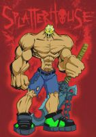 Splatterhouse by HoT-RoD-Monster