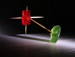The secret life of Gummy Bear by e-coli