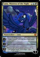 HaD - Luna, Mistress of the Night by pegasusBrohoof