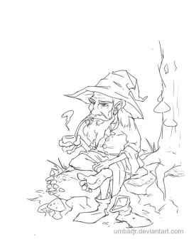 Ol' Wizard of the Woods by UmbarJr