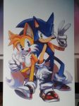 sonic tails pair by lujji
