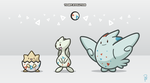 Togepi evolution by platfus123