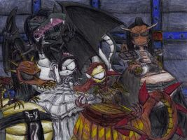 Metal Dragons - Lordi by VVraith