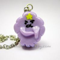 Lumpy Space Princess (LSP) necklace by TrenoNights