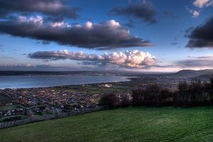 HDR at Knockagh - 2 by jfleck