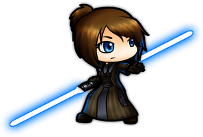 COMMISSION: Jedi Shadow by ProudPastry