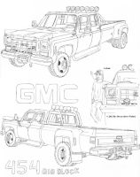 LtLink's GMC Truck (W.I.P.) by Deorse