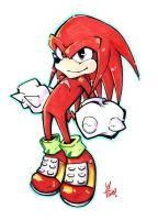 Knuckles by LazyTurtle