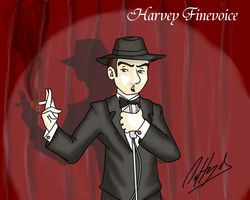 Harvey Finevoice by DaffydWagstaff