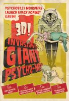 Giant Psycho-Men by paulorocker