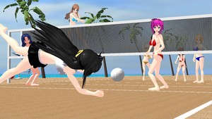 Vacations ~ Extreme Volleyball! by YuukiMMD