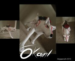 Okami sculpture by gingaparachi