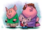 Ham Family by Erich0823