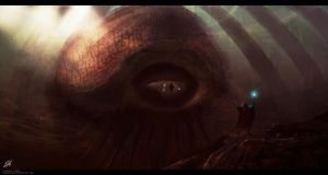 The Beholder by ApneicMonkey