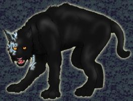 Superstition- color Sabertooth by MechanicalHyena