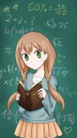 When I'm learning math. by diami-mi
