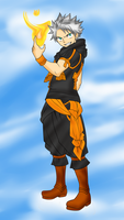 natsu in the clouds my style by stralight2011