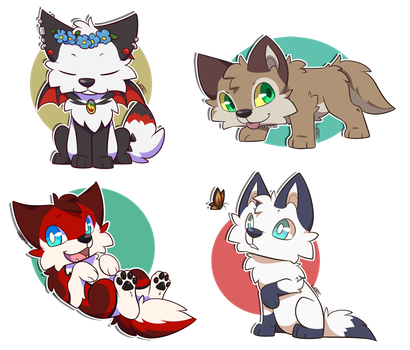 Chibi batch 7 by Leeomon