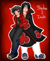 ShadowHachi's OC: Shadow by jazzy2cool