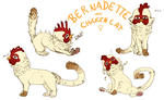 chickencat by meteorcrash