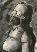 Homer by YamTorresIlustrador