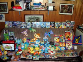 Couch fulla Pokestuff Part1 by The-Dude-L-Bug