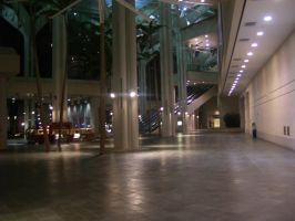 Convention Center Lobby by Cane-McKeyton