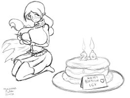 Isabelle Bday Sketch by Anubis2Pabon288