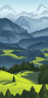 Landscape practice by BobShmob
