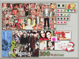 +3OO|Watchers pack|+Muchas gracias| by Get-back-to-start