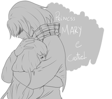 PrincssMary and Castiel by Sucrettee