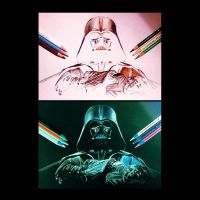 From the Light to the Dark Side by PencilRick