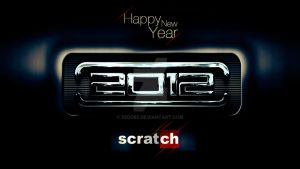 Scratch New year greeting by fedo86