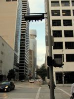 Downtown Streets: Houston 1 by archangel72367