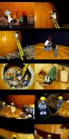 The Pumpkin Carvers by Hongkongcavalierdave