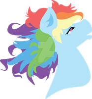 Rainbow Dash Vector - Available on Redbubble by slanderxoxo