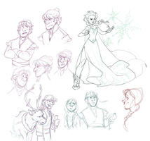 FROZEN DOODLES by AgentDax