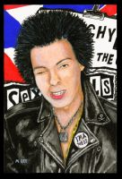 Sid Vicious 1977 by mikegee777
