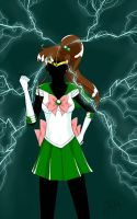 Sailor Jupiter by anotherwannabeartist
