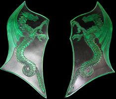 Carved Dragon Panels by Azmal