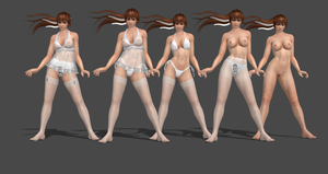 Kasumi Lingerie Re-make (LR Body) Completed by bstylez