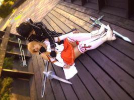 Please do not die ASUNA!!! by Mezushi-Cosplay