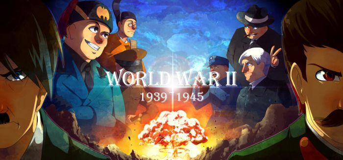 Leaders of WW2 by YinXiang