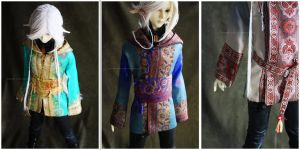 Shoppe : Hooded Traveling Coats by Nezumi-chuu