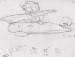 Sketchbook: Seaplane! by LanceTheTurtle